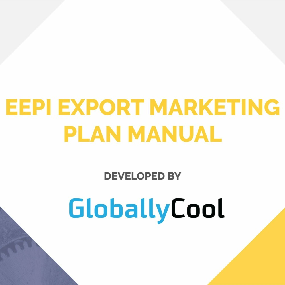 EEPI EXPORT MARKETING PLAN MANUAL