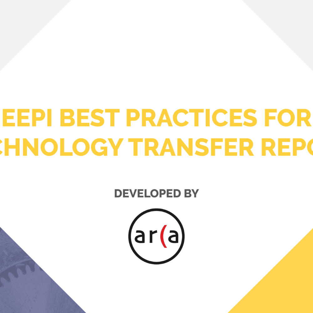 Best Practices in Technology Transfer Report